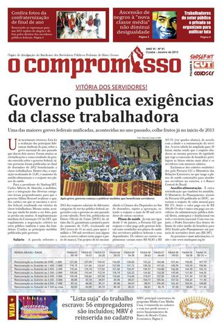 Jornal O Compromisso - Ano VII - Ed. 61