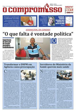 Jornal O Compromisso - Ano VII - Ed. 62