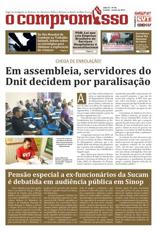 Jornal O Compromisso - Ano VII - Ed. 66