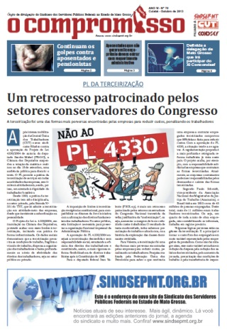Jornal O Compromisso - Ano VII - Ed. 70